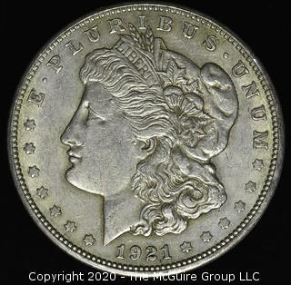 1921-D Morgan Dollar