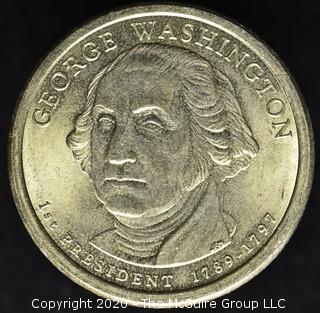 2007-P Washington Presidential Dollar