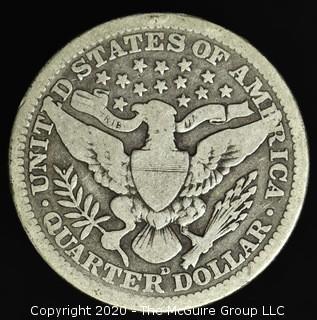 1914-D Barber Quarter