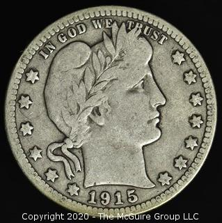 1915-D Barber Quarter