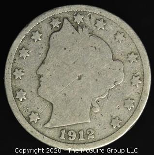 1912-D Liberty Nickel