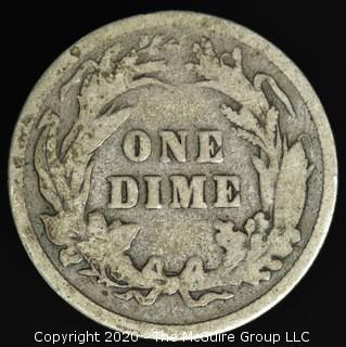 1897 Barber Dime