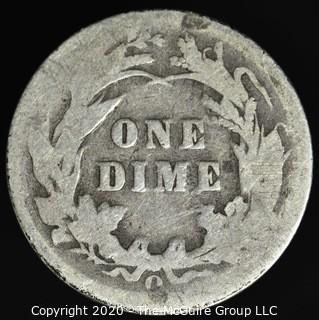 1899-O Barber Dime