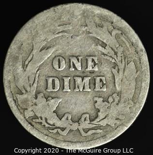 1900 Barber Dime