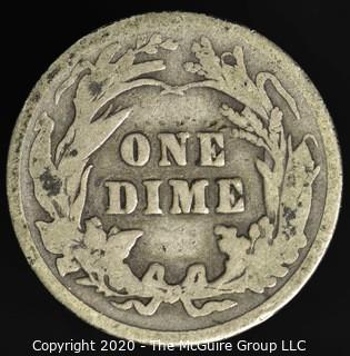 1902 Barber Dime