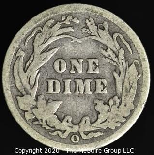 1902-O Barber Dime