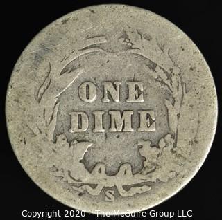 1902-S Barber Dime