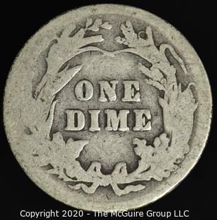 1904 Barber Dime