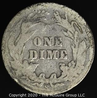 1905-S Barber Dime