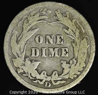 1906-D Barber Dime