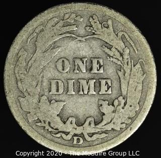 1907-D Barber Dime