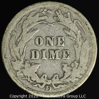 1908-D Barber Dime