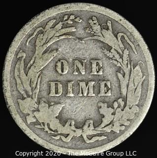 1909 Barber Dime