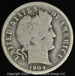 1909-O Barber Dime