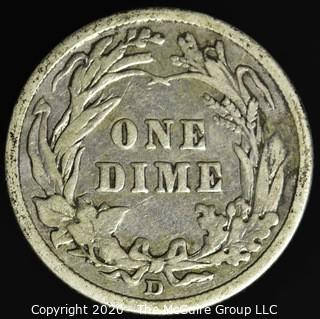 1912-D Barber Dime