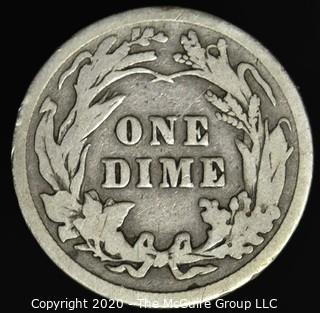 1914 Barber Dime