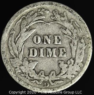 1914-D Barber Dime