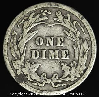 1915 Barber Dime