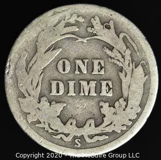 1915-S Barber Dime