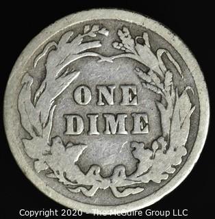 1916 Barber Dime