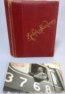 Family Photo Album of French Industrial Designer Raymond Loewy with Signed Photo.