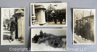Four Black & White European WWI Photos