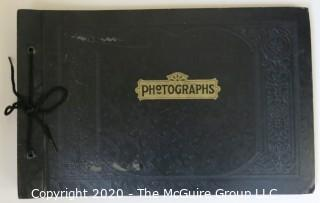 Antique Photo Album of 1920's-1930's Racing Planes by William Sumits.