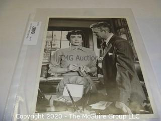 Photo: Print: Press Release: Vintage Movie:  Joan Crawford