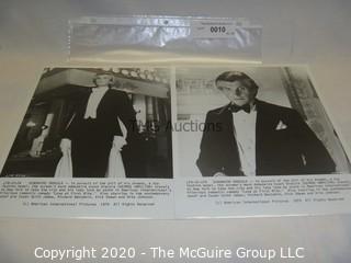 Photo: Print: Press Release: Vintage Movie: George Hamilton as Dracula