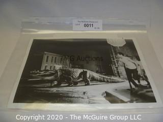 Photo: Print: Press Release: Vintage Movie: ALLIGATOR horror movie