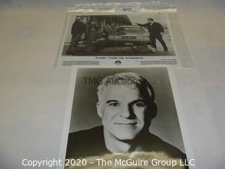 Photo: Print: Press Release: Vintage Movie: Steve Martin - Planes Trains & Automobiles