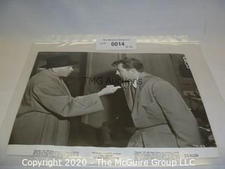 Photo: Print: Press Release: Vintage Movie: Robert Mitchum movie