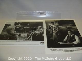 "Photo: Print: Press Release: Vintage Movie: Noir ""Double Indemnity"""