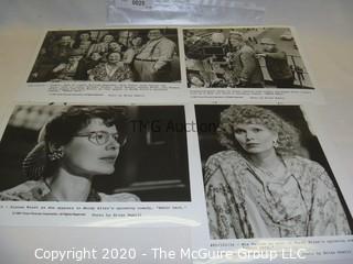 Photo: Print: Press Release: Vintage Movie: Radio Days - Woody Allen
