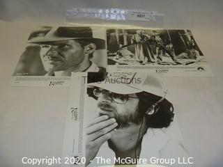 Photo: Print: Press Release: Vintage Movie: Raiders of the Lost Ark
