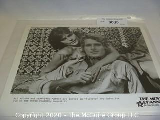 Photo: Print: Press Release: Vintage Movie: Ali McGraw and Dino Jr.