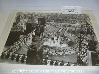 Photo: Print: Press Release: Vintage Movie: scene from Quo Vadis