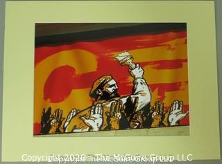 Art: Photo: Matted: Fidel Castro