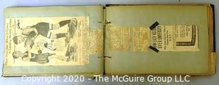 Two 1923 - 1924 Handmade Scrap Books for Shaw High School Sports Teams, Cleveland OH (updated 7/28/20)