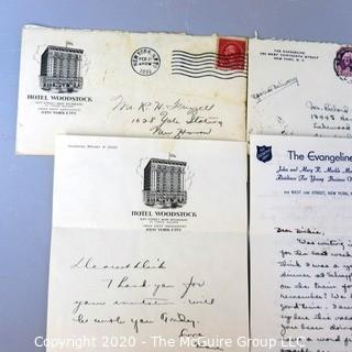 Collectible: Ephemera: personal letters on interesting letterheads see all photos