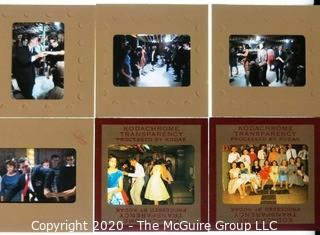 Photography: Rickerby: 35mm color slides: 1960's: HS dance in Chicago