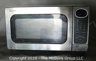Sharp Carousel Microwave in Stainless Steel Finish,