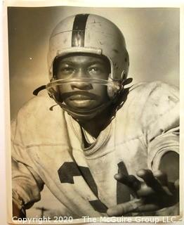Photo: Collectible: Football: South High: 1957: Ben Nolen by Paul Siegel (Face)