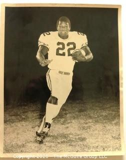 """Photo: Historical: Football: College: Eugene """"Mercury"""" Morris ~1968 - went on to play with Miami Dolphins and Superbowl"""