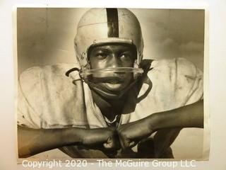 Photo: Collectible: Football: Minneapolis South High: 1957: Linebacker Ben Nolen by Paul Siegel