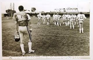 Photo: Historical: Football: College: Minnesota Golden Gophers - Fred Orgas injured on sideline