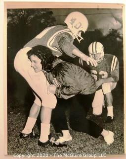 Photo: Historical: Football: College: 1964: Tulsa - early female asst. coach Jackie Stringer