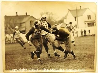 Photo: Historical: College Football: attributed to Dwight T Reed ~1958. May be of him playing in 1930's