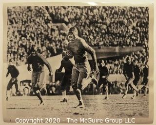 Photo: Historical: College Football: Rose Bowl: 1929: Iconic image of Roy Riegels of UC Berkeley running the wrong way