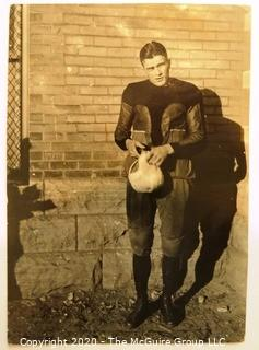 Photo: Historical: College Football: 1920 U of Minn: Arnold Oss (Sr) -his son would represent the US in the 1952 Olso Olympics in hockey.